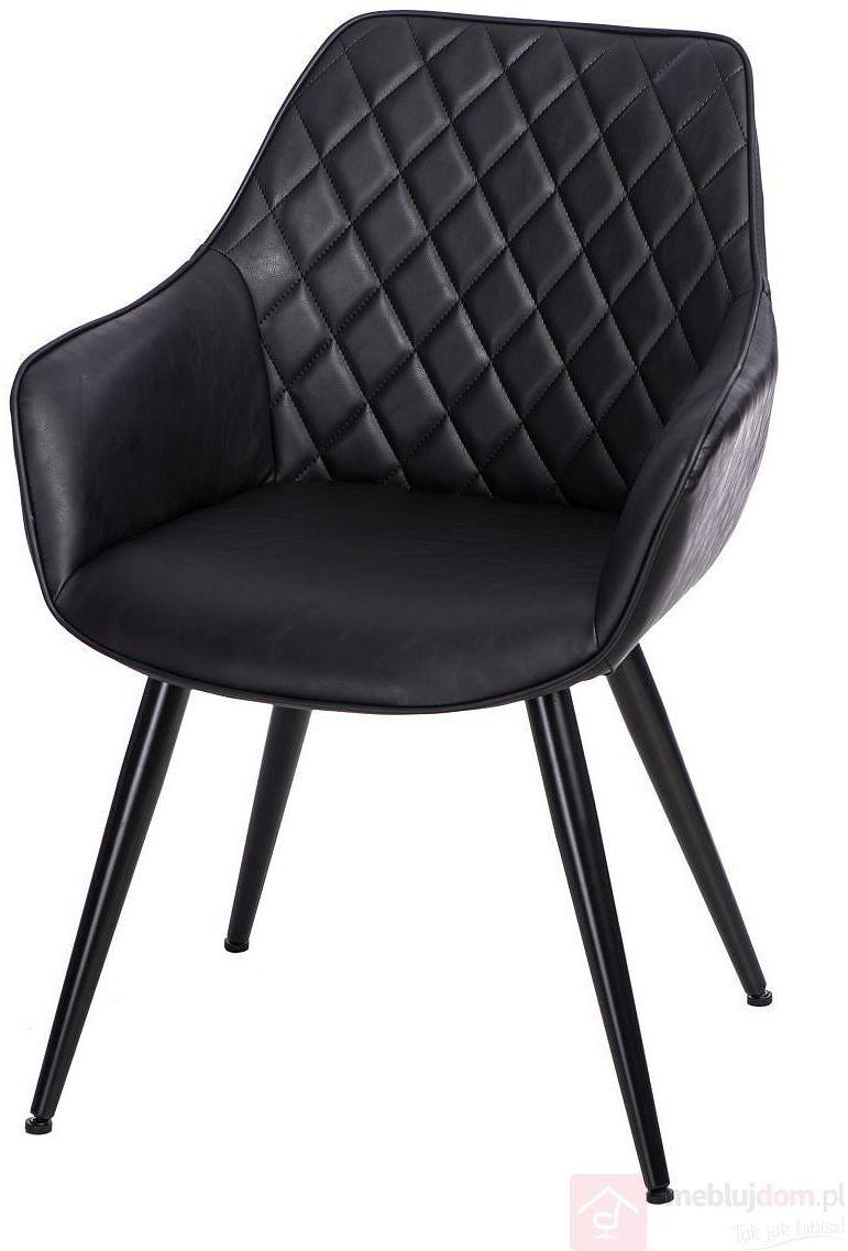 KUPON 10% NA STRONIE  Krzesło ROX Czarny