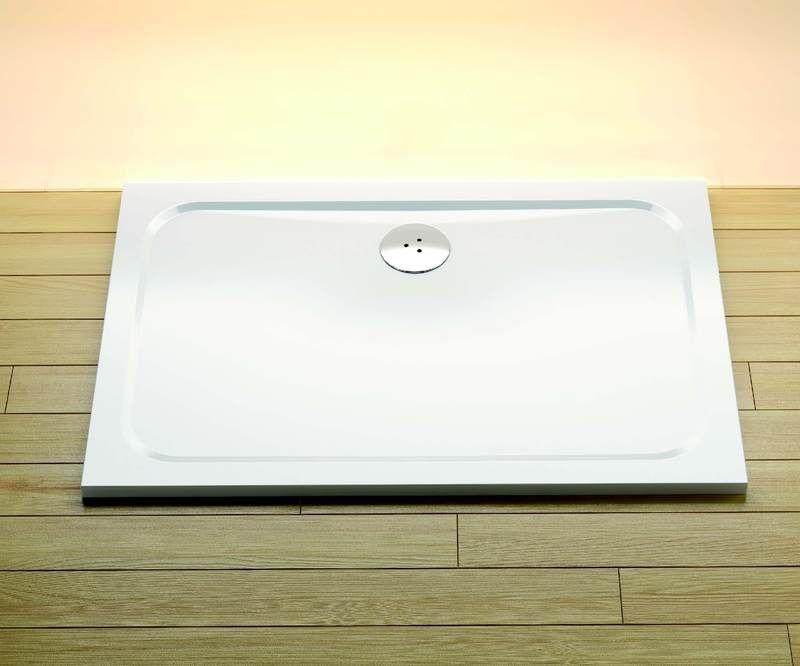 Ravak brodzik konglomerat 100x80 cm Gigant Pro Chrome, biały XA04A401010