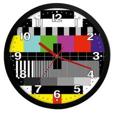 Zegar ścienny solid sygnał kontrolny TV