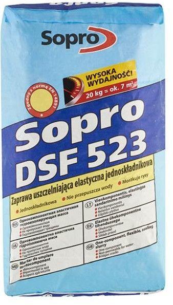 Zaprawa uszczelniająca tarasy Sopro DSF523 20 kg