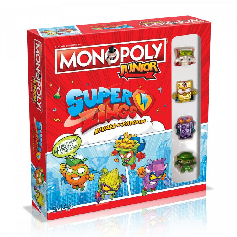 Gra Monopoly Junior Super Zings