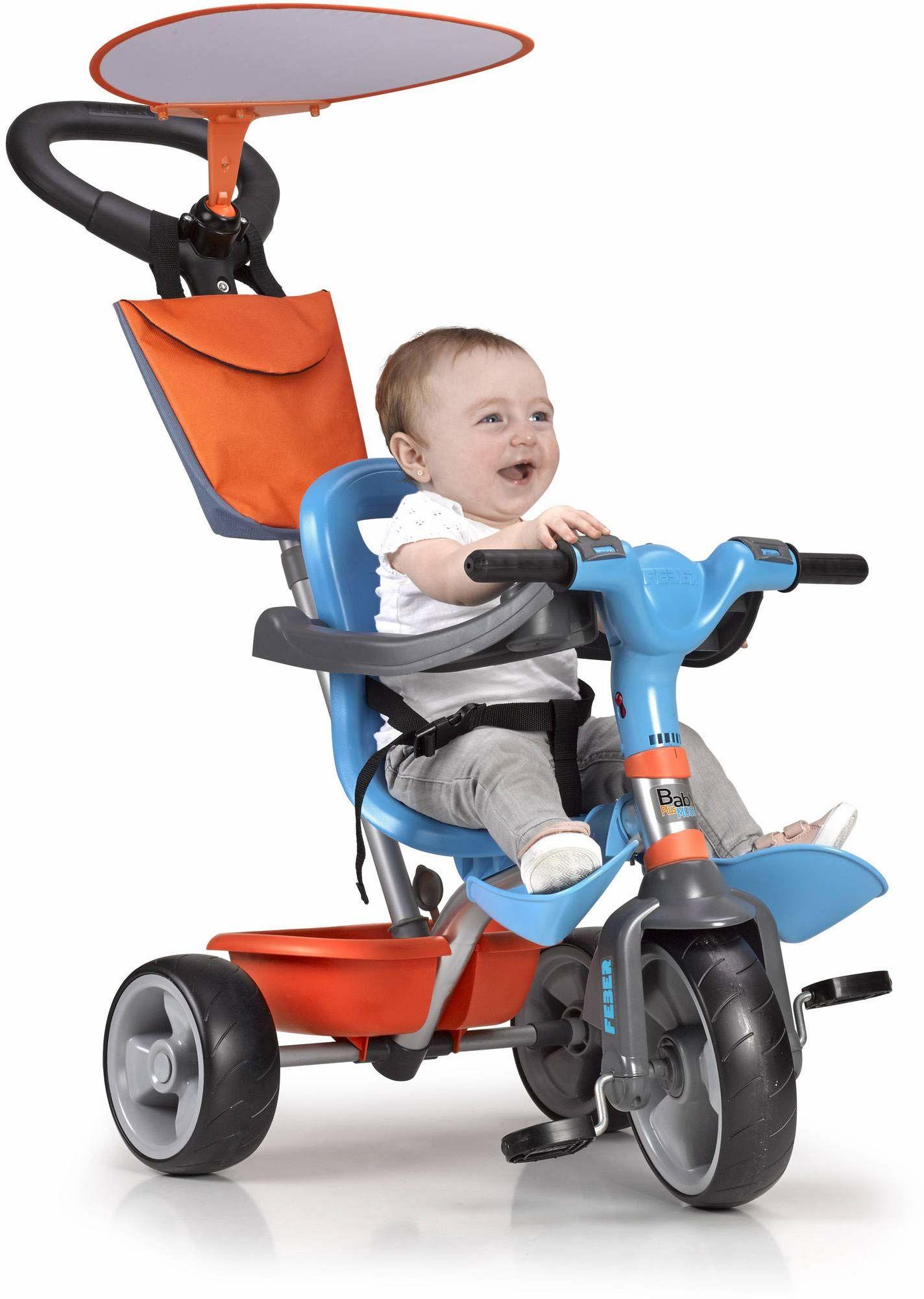 FEBER - trójkołowy rower muzyczny Baby Plus