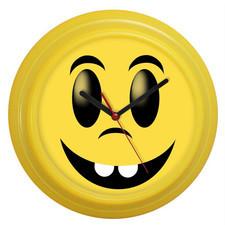 Zegar ścienny kolorowy bądź szczęśliwy