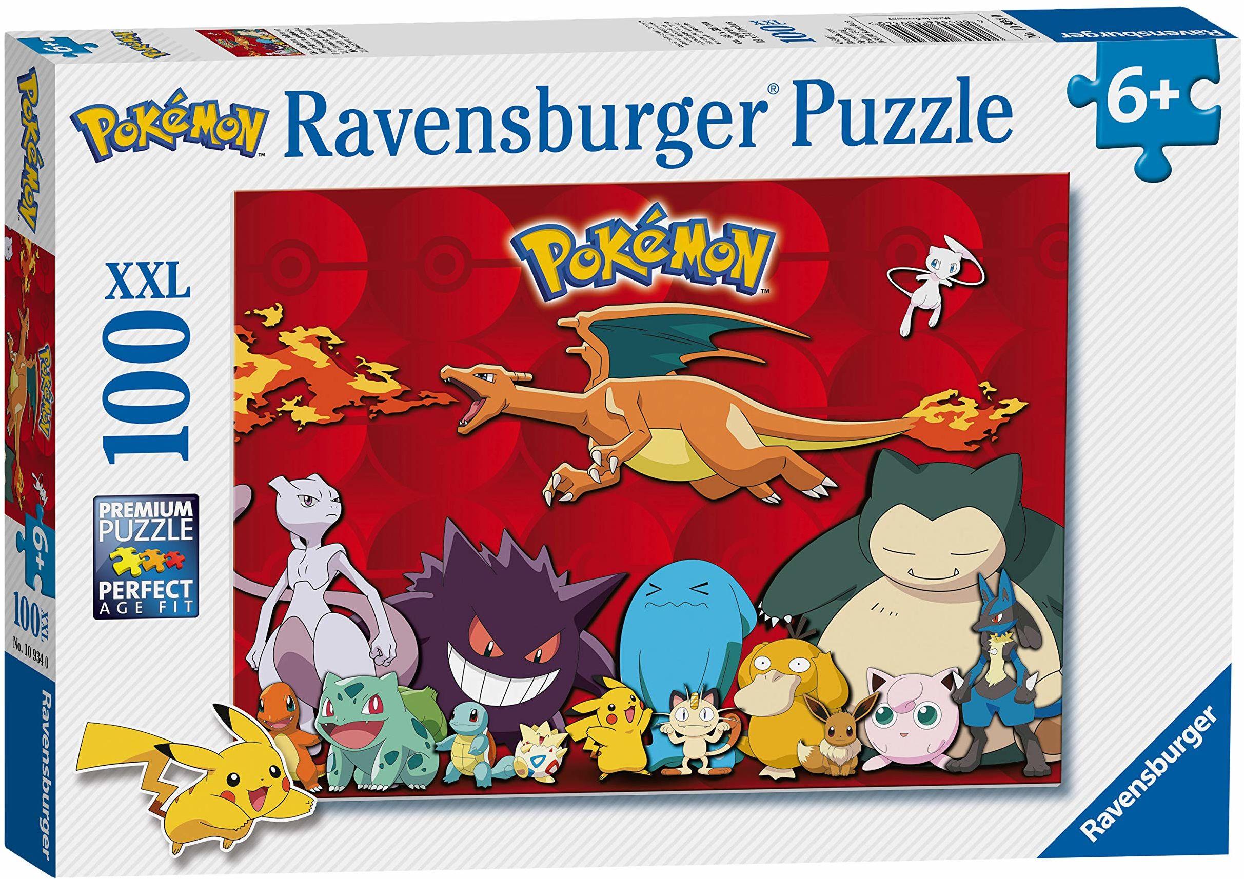Ravensburger 10934 Pokemon XXL 100 szt. puzzli