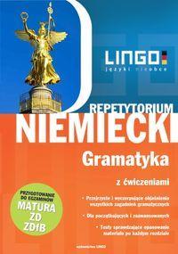 Repetytorium niemiecki gramatyka z ćwiczeniami ZAKŁADKA DO KSIĄŻEK GRATIS DO KAŻDEGO ZAMÓWIENIA