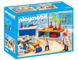 Playmobil - Sala do lekcji chemii 9456