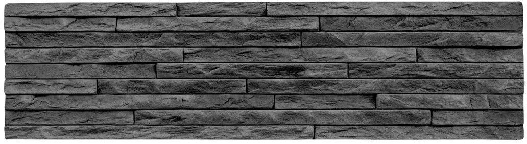 Kamień dekoracyjny Milo Graphite 37,5x10
