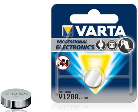 bateria alkaliczna mini VARTA V12GA, LR43, AG12, D186, L1142