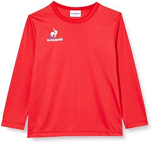 Le Coq Sportif N 1 Maillot Match Enfant Ml Vintage czerwony T-shirt, 14A
