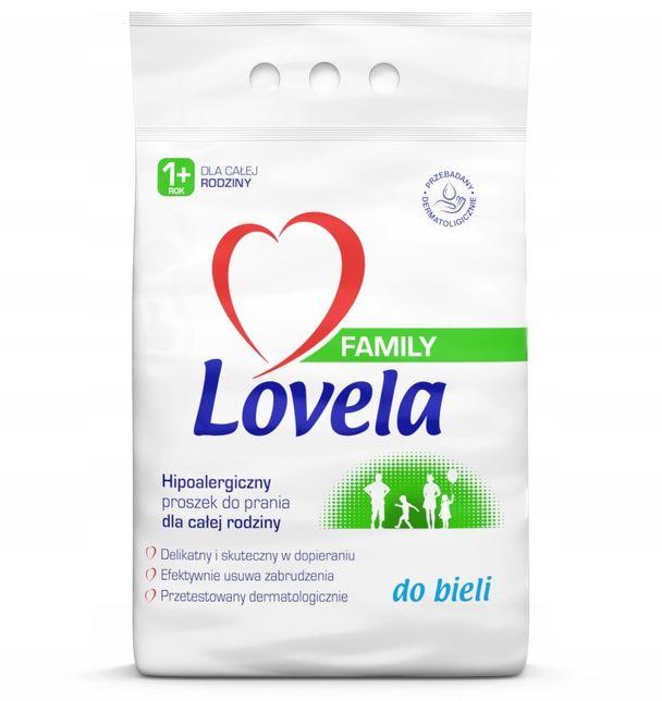 LOVELA FAMILY Proszek do Prania WHITE 2,1 kg