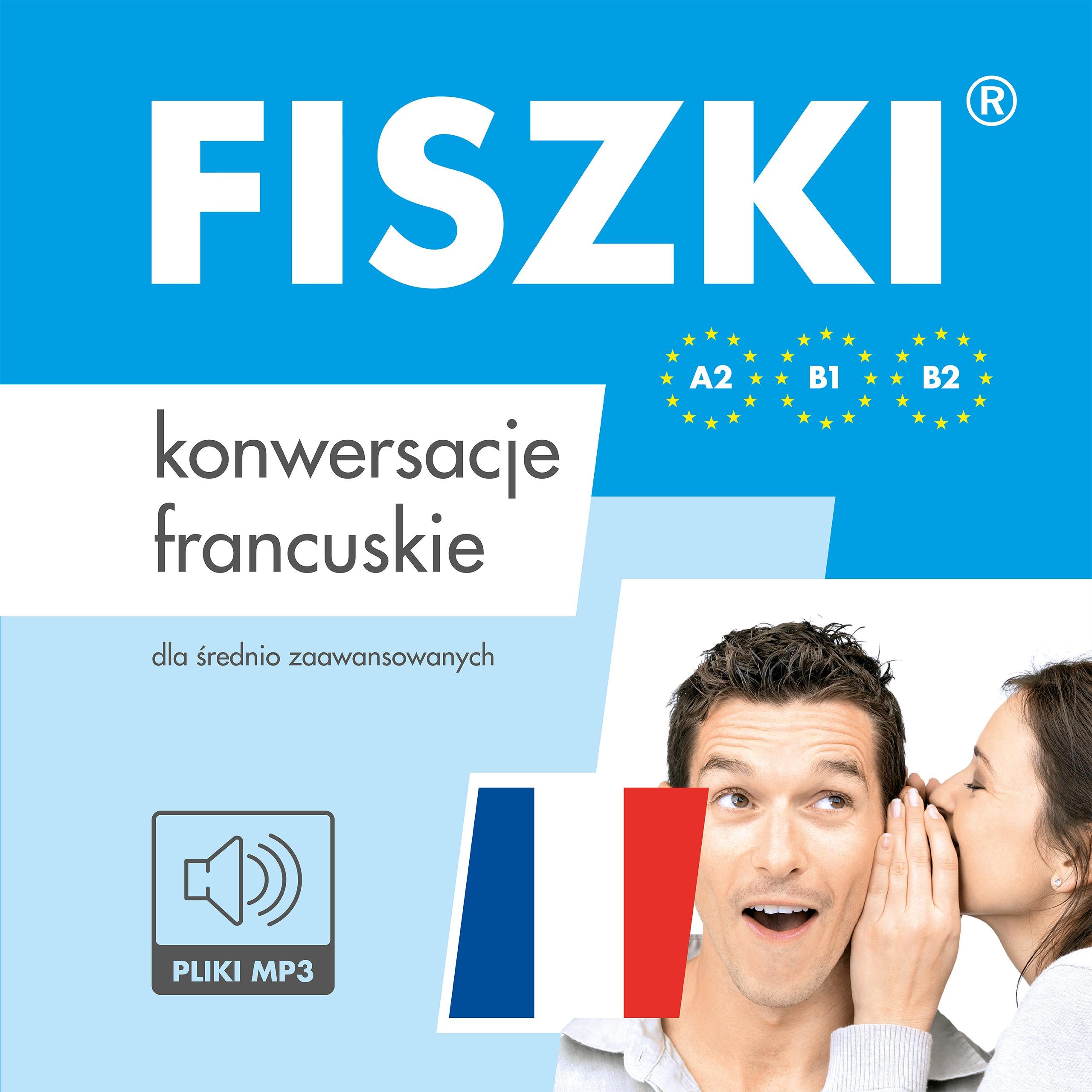 AUDIOBOOK - francuski - Konwersacje (A2-B2)
