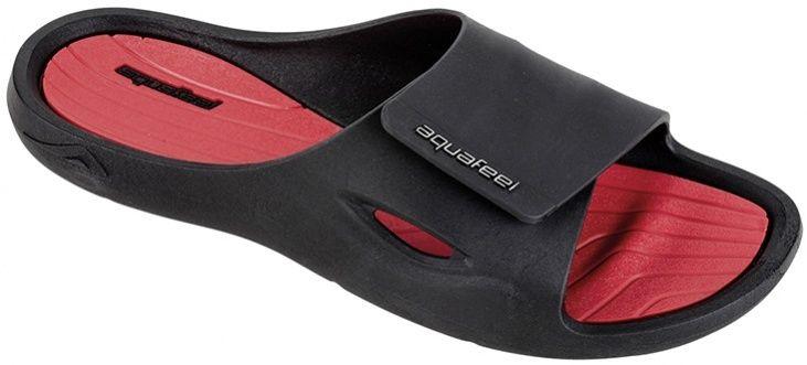 Aquafeel profi pool shoes black/red