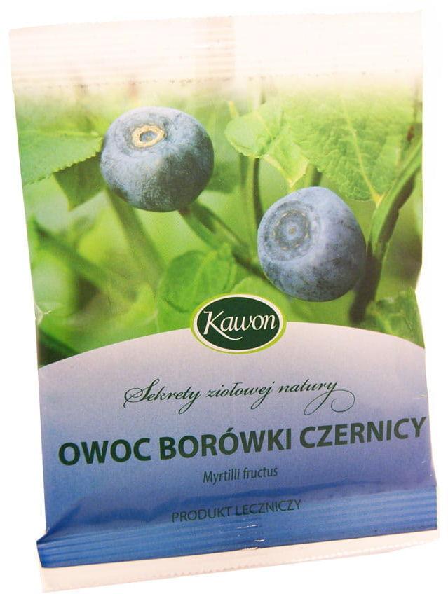 Owoc borówki czernicy - Kawon - 25g