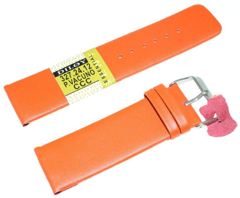 Skórzany pasek do zegarka Diloy 24 mm 327.24.12