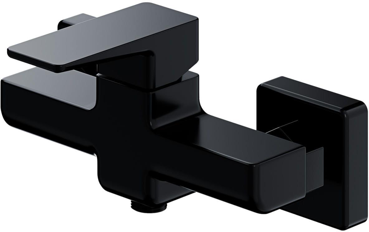 OMNIRES Bateria prysznicowa, natynkowa, solo Parma PM7440 BL czarna