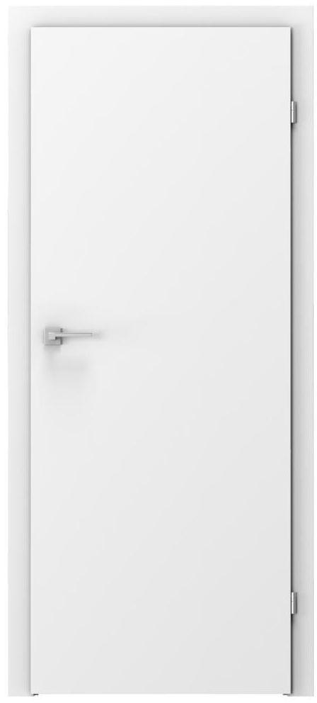 Skrzydło drzwiowe pełne BASIC Białe 70 Prawe VOSTER