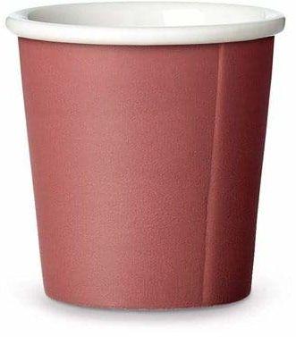 Viva Scandinavia Viva kubek do espresso - czerwony, ceramiczny, 6,3 x 6,3 x 6,2 cm