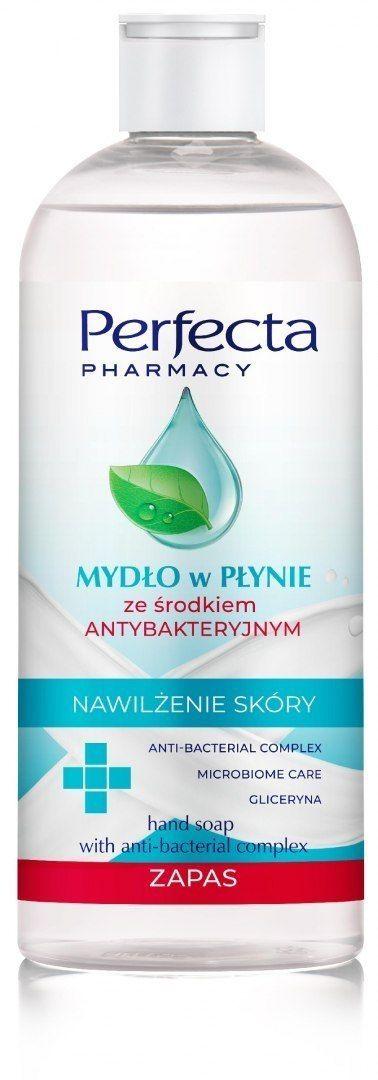 Dax Perfecta Pharmacy Mydło w płynie ze środkiem antybakteryjnym 400ml - zapas