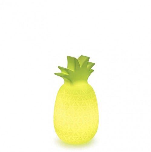Lampa Samba limonkowa z wbudowaną baterią