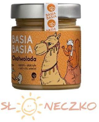 Krem z sezamu i daktyli Chałwolada 210 g BasiaBasia