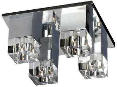 Plafon BOX 4 chrom AZ0178 - Azzardo  Sprawdź kupony i rabaty w koszyku  Zamów tel  533-810-034
