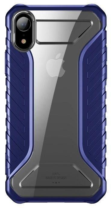 Odporne etui Baseus Michelin Case do iPhone XR (niebieskie)