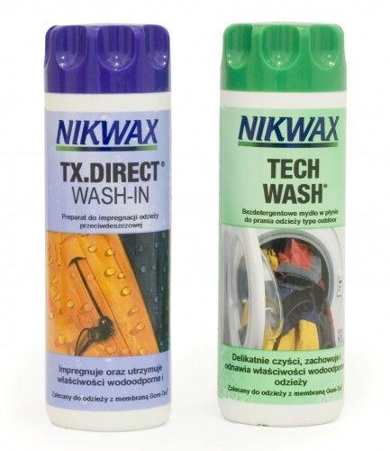 Zestaw Nikwax Tech Wash + TX.Direct 2x300ml