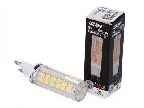 Żarówka LED LEDline G9 6W SMD 230V biała zimna