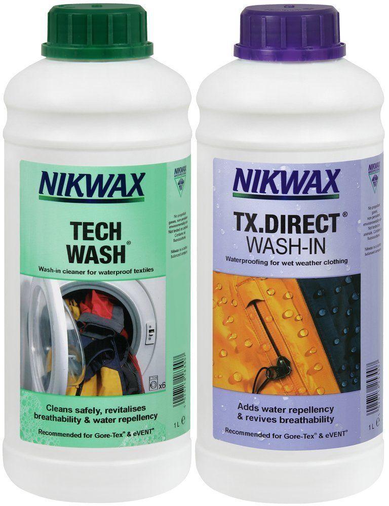 Zestaw Nikwax Tech Wash + TX.Direct 2x1000ml