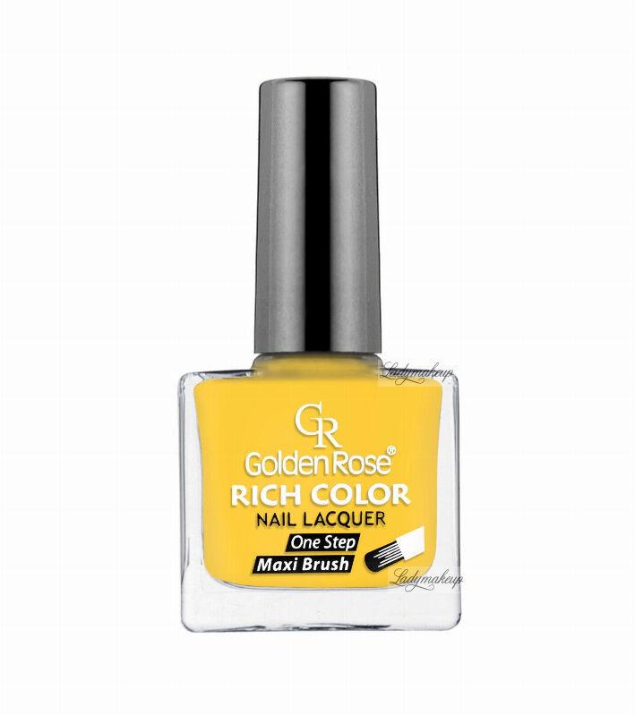 Golden Rose - RICH COLOR - Nail Lacquer - Długotrwały lakier do paznokci - 48