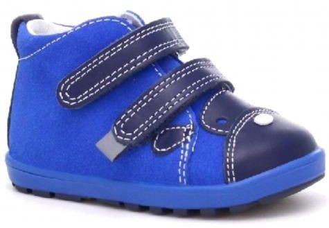 Bartek Baby Mini First Steps 71734 - 1ZWS profilaktyczne trzewiki, półbuty, dla dzieci - niebieski