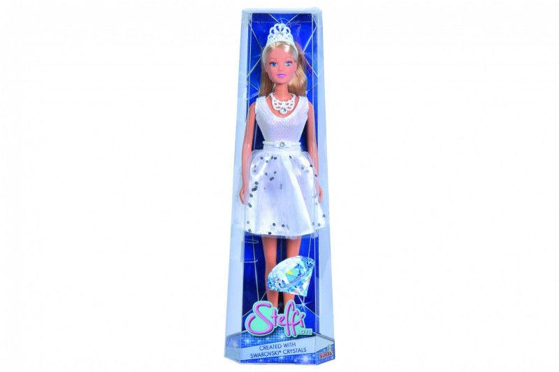 Lalka Steffi w krótkiej sukni z kryształami
