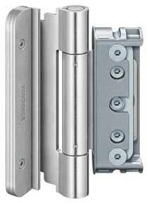 Zawias do drzwi zewnętrznych BAKA protect 4030 3D FD ocynk srebrny