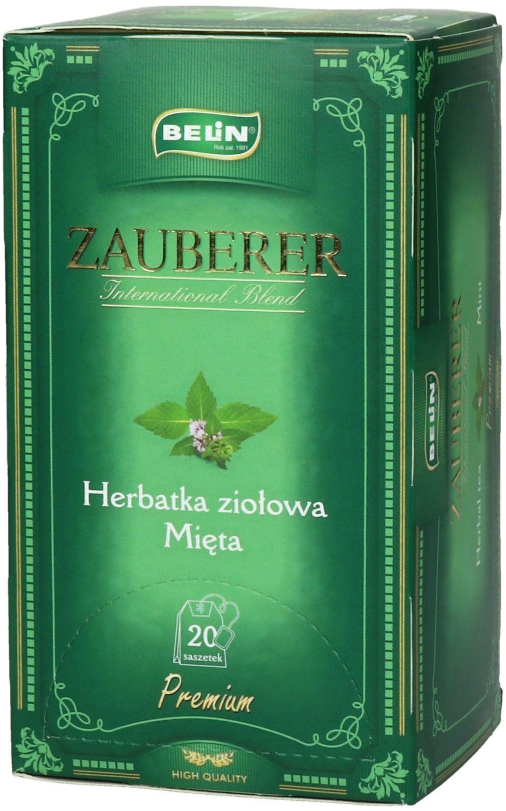 Herbata ekspresowa mięta Belin 20t koperty