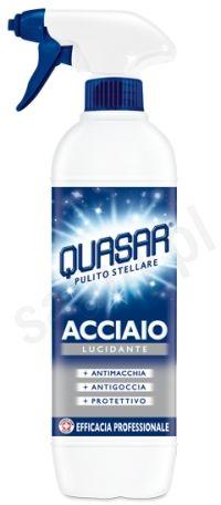 Quasar Acciaio - profesjonalny płyn do czyszczenia metali w sprayu (650 ml)