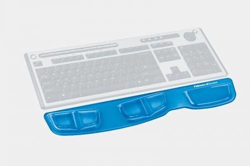 Podkładka przed klawiaturę Health-V Crystal Fellowes, niebieska, 9183101 - Super Ceny - Rabaty - Autoryzowana dystrybucja - Szybka dostawa - Hurt