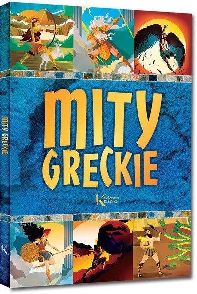 Mity greckie - Lucyna Szary