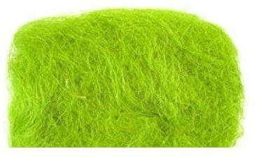 Sizal dekoracyjny zielony ok. 40g sizal-zielony