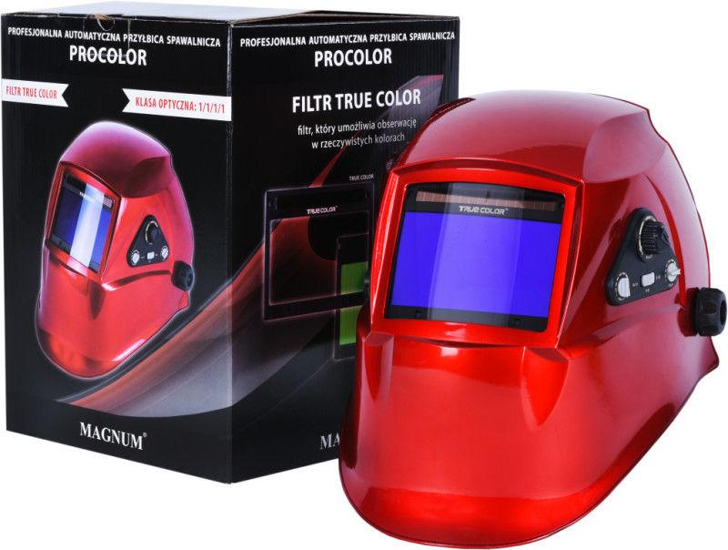 Przyłbica automatyczna Magnum PRO COLOR