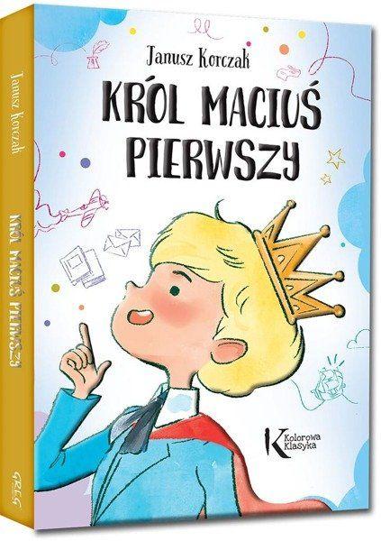 Król Maciuś Pierwszy kolor TW GREG - Janusz Korczak
