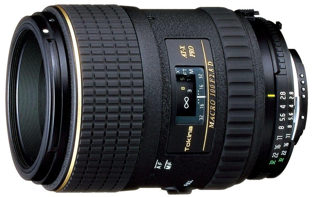 Tokina AF 100mm f.2.8 AT-X M100 AF PRO D Canon