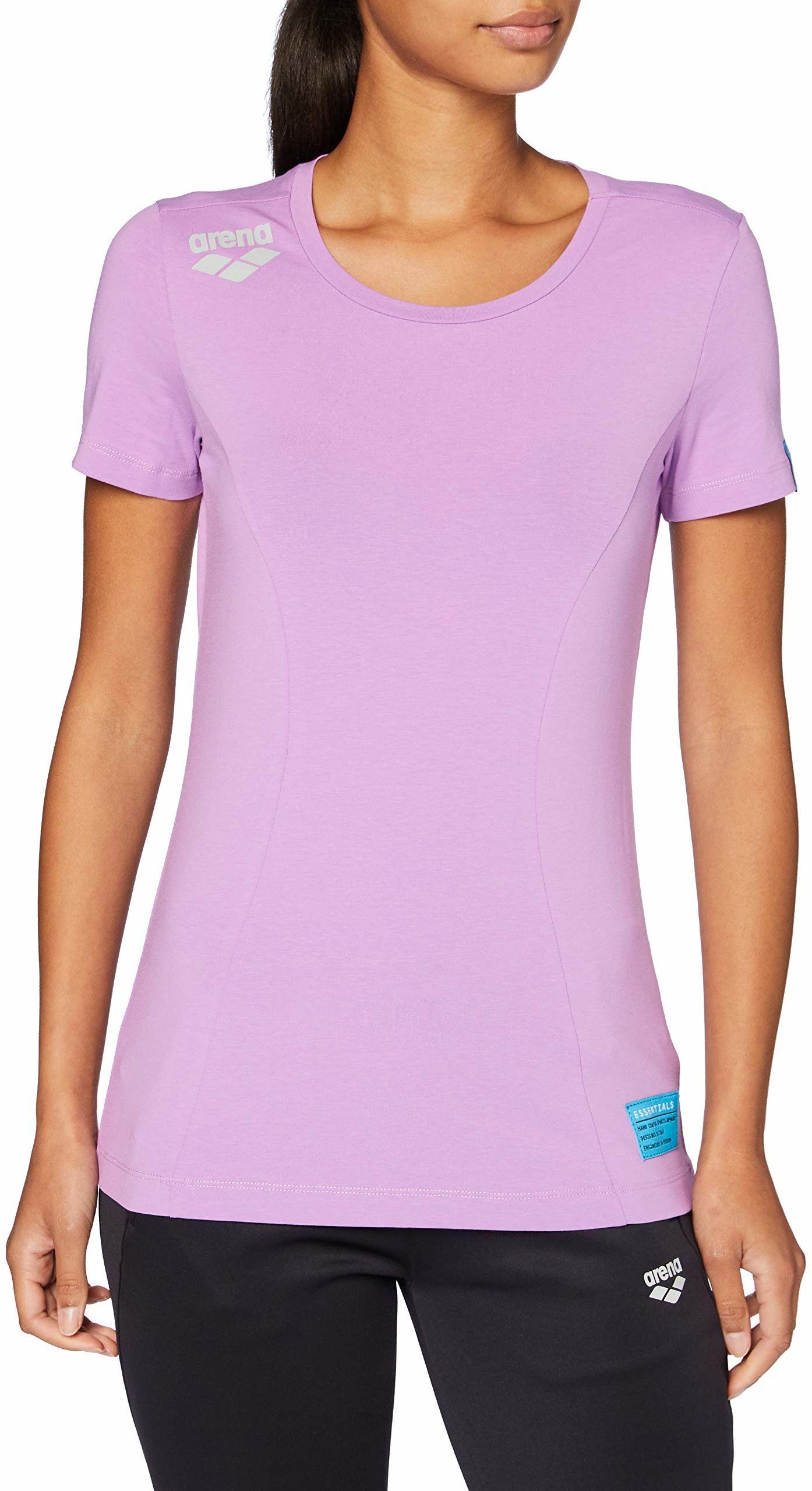 ARENA Damska koszulka sportowa Arena Te T-shirt fioletowy fioletowy M