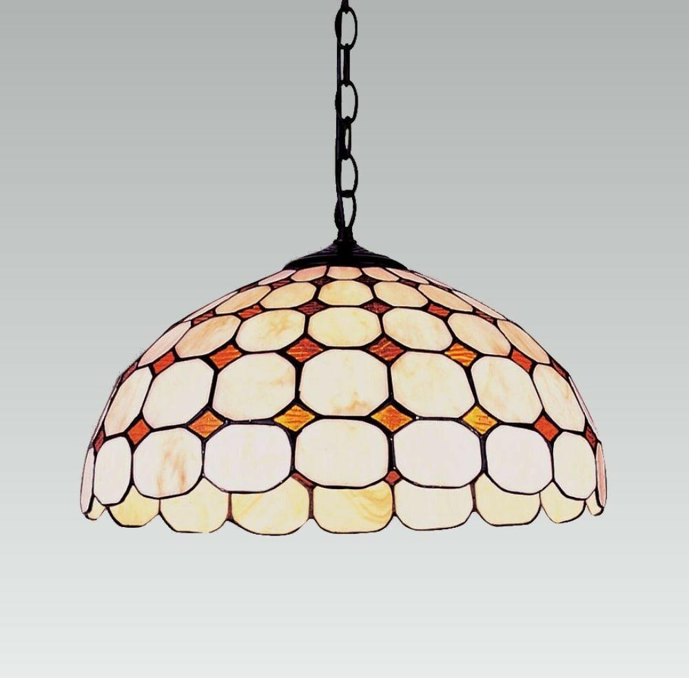 Lampa wisząca TIFFANY 2X60W E27 100 PREZENT- wysyłka 24h (na stanie 1 sztuka)