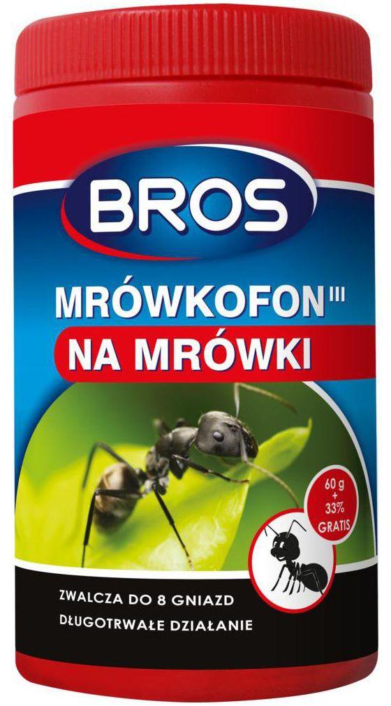 Środek na mrówki 80 g MRÓWKOFON BROS