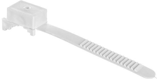 Uchwyt paskowy biały UP-30 12.2 /100szt./