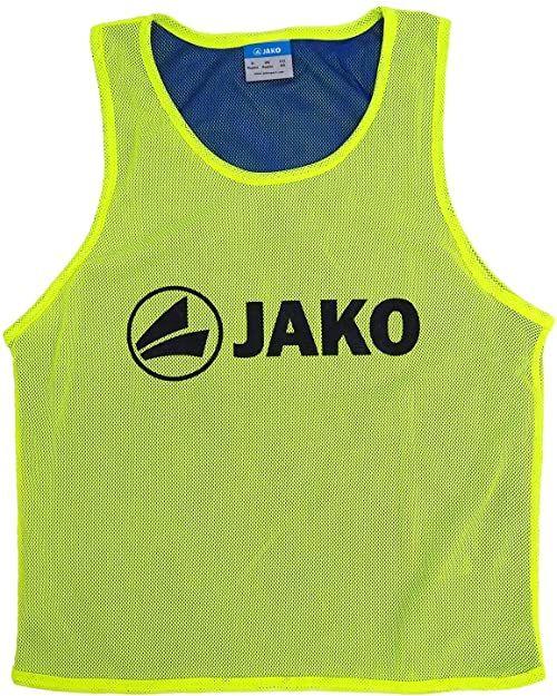 JAKO Unisex Reverse koszulka identyfikacyjna wielokolorowa żółty neonowy/Royal Einheitsgröße