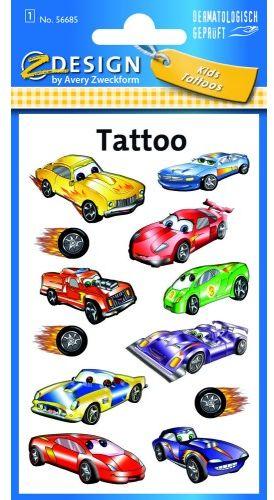 Tatuaże Z-Design - samochody