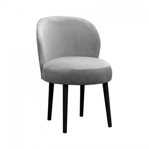 Krzesło jadalniane z okrągłym siedziskiem Angel