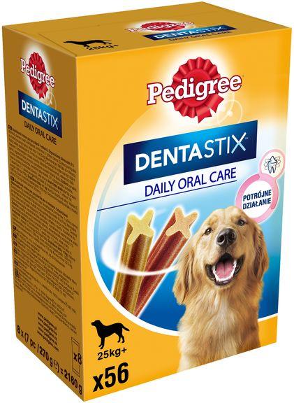 Pedigree Dentastix Maxi 56 szt. - przysmak dentystyczny dla psów rasy dużej 56szt Dostawa GRATIS od 95 zł + wymiana punktów na rabaty!