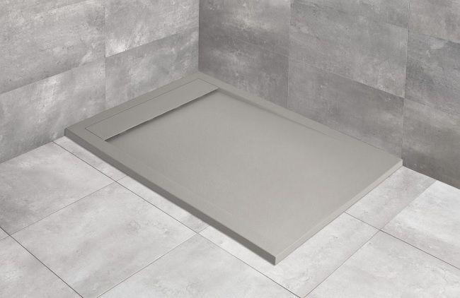 Radaway Teos F brodzik 140x70cm cemento HTF14070-74